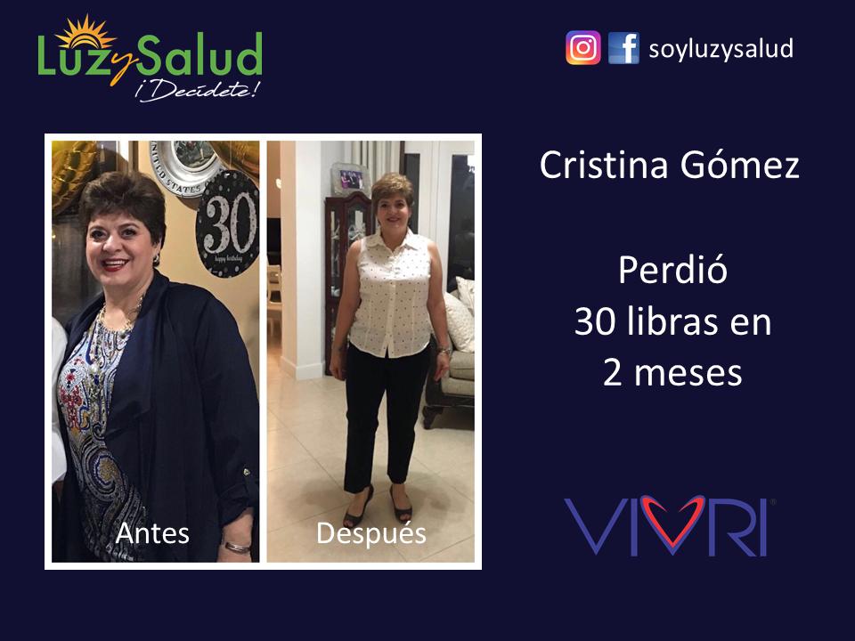 Cristina - Testimonios Reto Luz y Salud