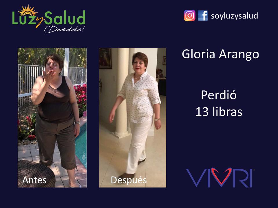 Gloria - Testimonios Reto Luz y Salud