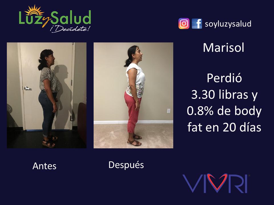 Marisol - Testimonios Reto Luz y Salud