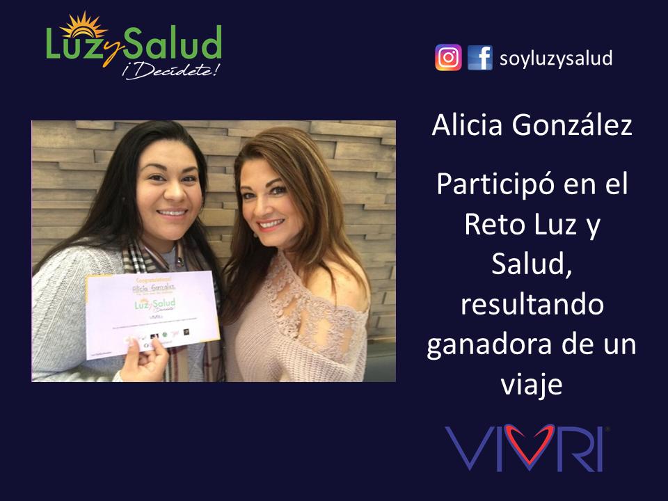 Alicia - Testimonios Reto Luz y Salud